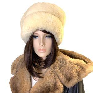 Genuine Sheepskin Russian Style Hat